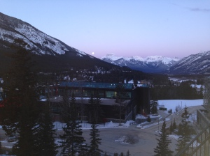 Dawn in Banff.