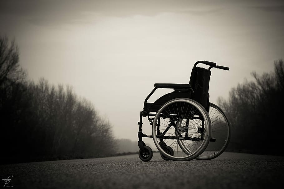 wheelchair-lonely-physical-hospital
